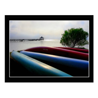 Canoes Postcards