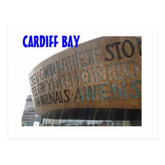 Canolfan Mileniwm Cymru Postcard