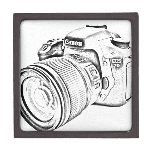 Canon 7d caja de recuerdo de calidad