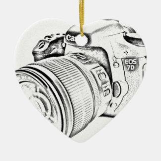 Canon 7d ceramic ornament
