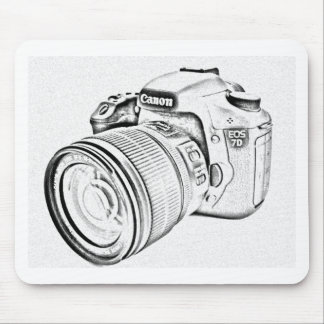 Canon 7d mouse pad
