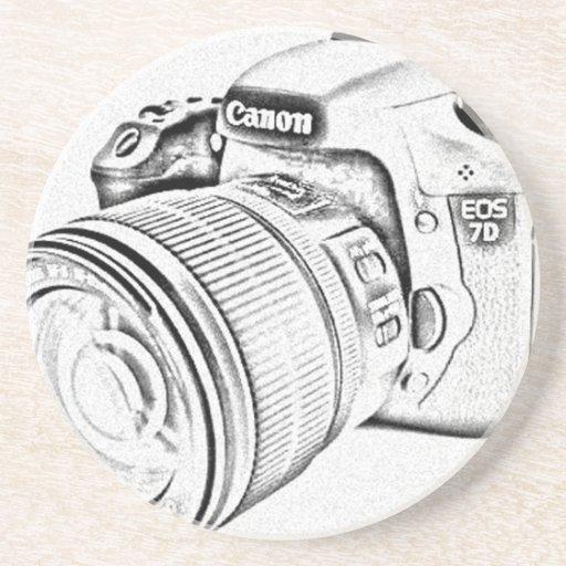 Canon 7d posavasos de arenisca