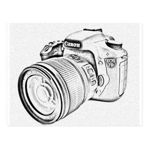 Canon 7d postales