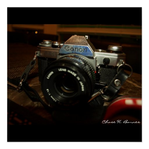 Canon AE-1 Poster