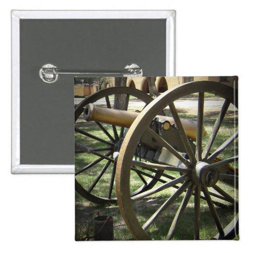 Canon antiguo en el fuerte Stanton New México Pins