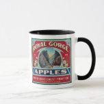 Canon City, Colorado - Royal Gorge Apple Label Mug