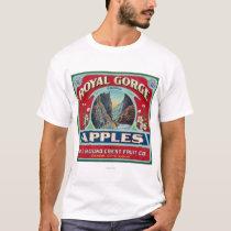 Canon City, Colorado - Royal Gorge Apple Label