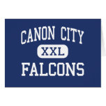 Canon City Falcons Middle Canon City Greeting Card