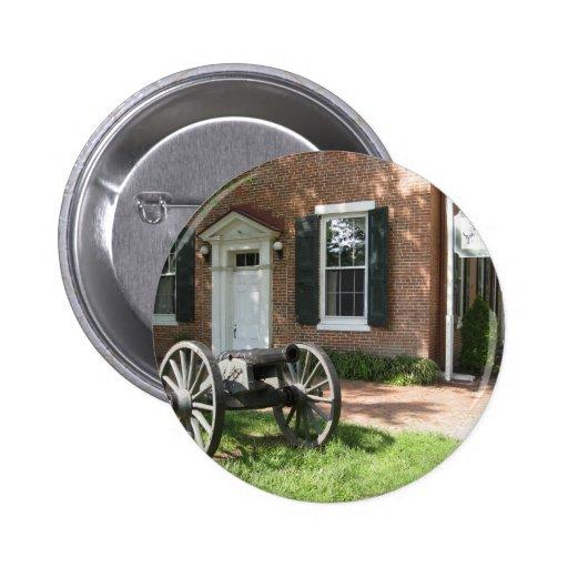 Cañón de la guerra civil pin