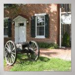 Cañón de la guerra civil poster