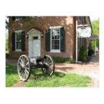 Cañón de la guerra civil tarjetas postales