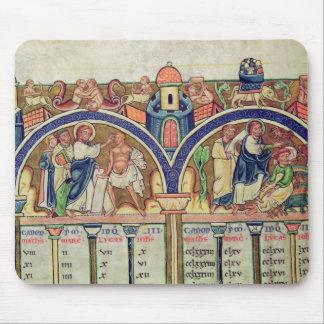 Canon de la representación del detalle de los evan alfombrilla de ratones