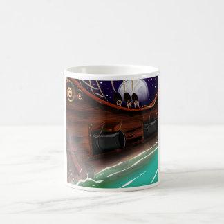Cañón de madera de Sailship Taza Clásica