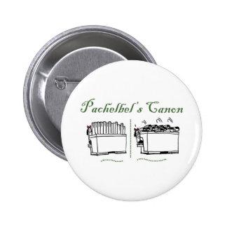 Canon de Pachelbel Pin Redondo 5 Cm