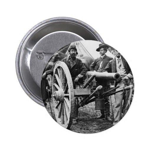 cañón del rifle de Ord de 3 pulgadas - guerra civi Pins