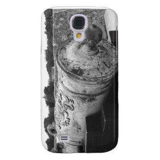 Canon en el bw del fuerte I de St Augustine Funda Para Galaxy S4