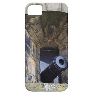 Cañón en el castillo de Edimburgo iPhone 5 Case-Mate Carcasas