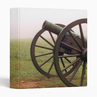 Cañón en la carpeta de Antietam