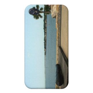 Canon en la plataforma sobre entrada en St Augusti iPhone 4 Carcasas