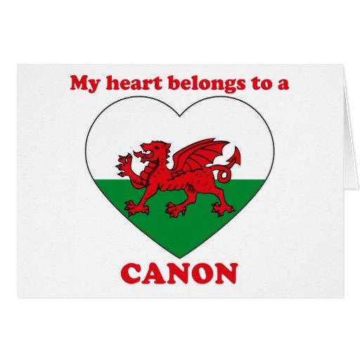 Canon Felicitaciones