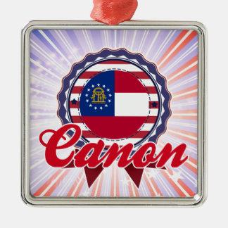 Canon, GA Christmas Ornaments