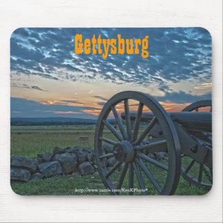 Cañón II Mousepad de Gettysburg Alfombrillas De Raton