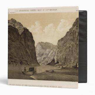 """Canon negro, el río Colorado 2 Carpeta 1 1/2"""""""