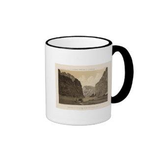 Canon negro, el río Colorado 2 Taza A Dos Colores