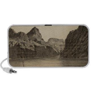 Canon negro, el río Colorado Mini Altavoz