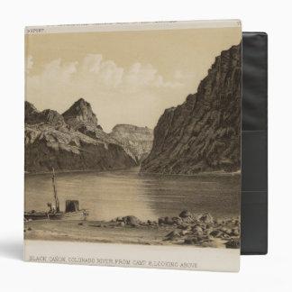 """Canon negro, el río Colorado Carpeta 1 1/2"""""""