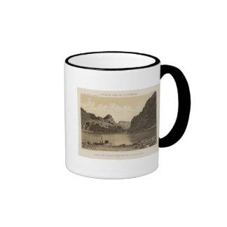 Canon negro, el río Colorado Taza A Dos Colores