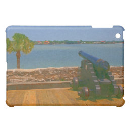 Canon over inlet painting iPad mini covers