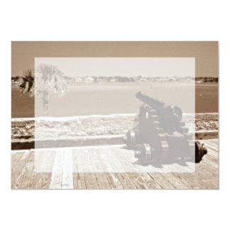 Canon over inlet sepia 1 card