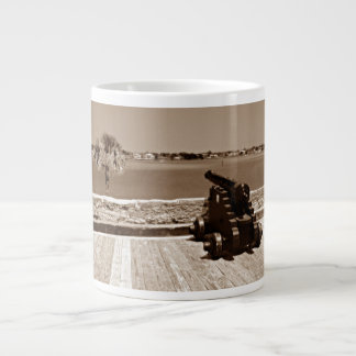 Canon over inlet sepia 1 giant coffee mug