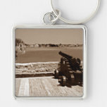 Canon over inlet sepia 1 key chain