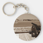 Canon over inlet sepia 1 key chains