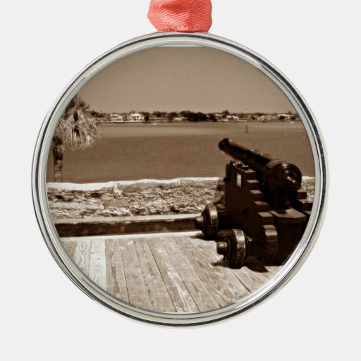 Canon over inlet sepia 1 ornament
