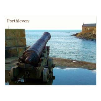 Canon Porthleven Cornualles Inglaterra Tarjeta Postal