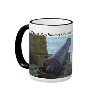 Canon Porthleven Cornualles Inglaterra Taza De Café