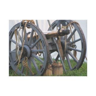 Canon, revolución americana impresión en lienzo