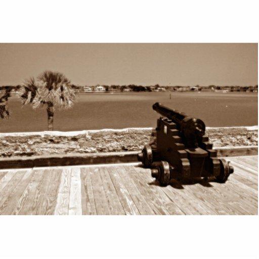 Canon sobre la sepia 1 de la entrada escultura fotográfica