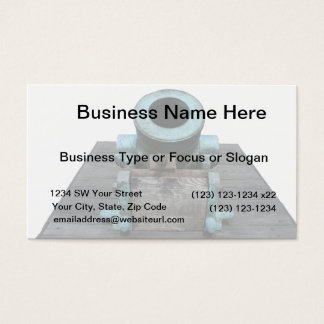 Canon St Augustine Stubby Business Card