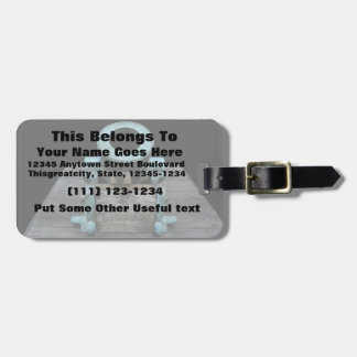 Canon St Augustine Stubby Luggage Tag