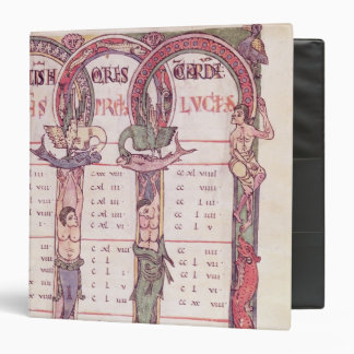 Canon tables of the Evangelists 3 Ring Binder