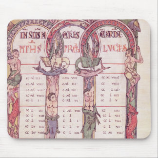Canon tables of the Evangelists Mouse Pad