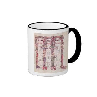 Canon tables of the Evangelists Ringer Mug