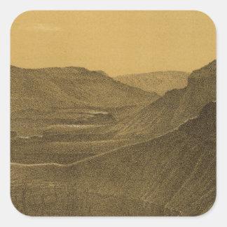 Canon within a canon, Colorado River Square Sticker