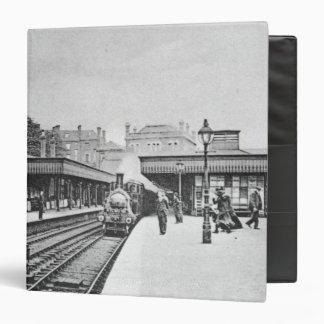 Canonbury Station, Islington, c.1905 3 Ring Binder