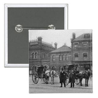 Canonbury Station Islington c 1905 Buttons