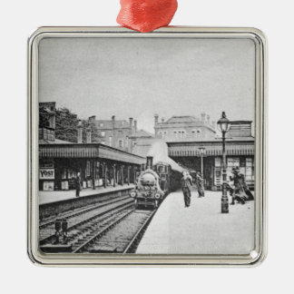 Canonbury Station, Islington, c.1905 Metal Ornament